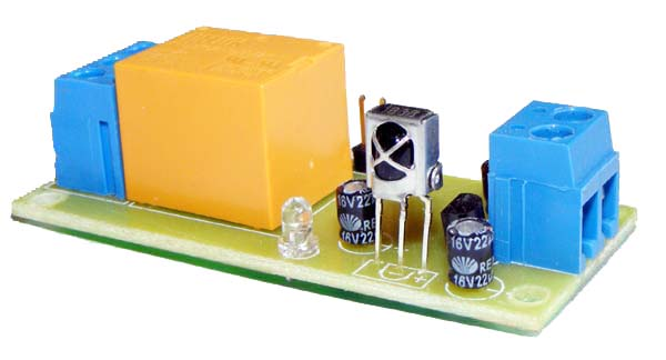 Low cost infrared remote control relay boards.