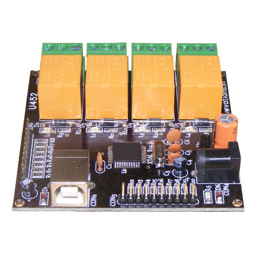 USB relay 4 channel plus data acquisition card