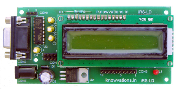 Serial LCD RS232 port 16*2 LCD display iRS-LD