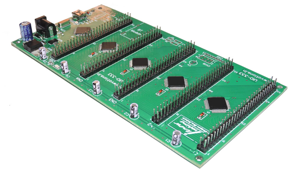 UIO-333 USB based 255 channel I/O board-4 from iknowvations