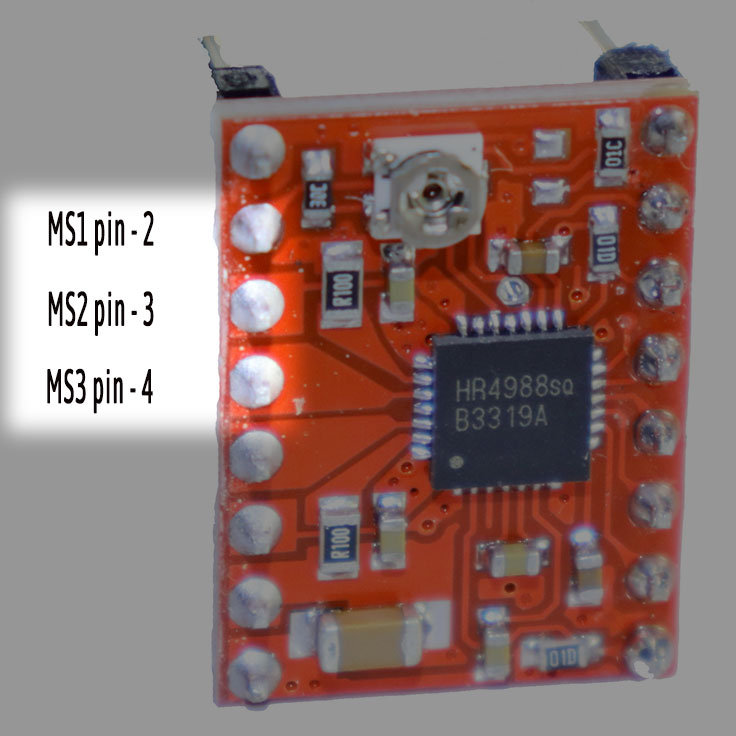 A4899 Stepper motor driver step selection -iknowvations.in